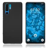 Silicone Case P30 Pro matt black Cover
