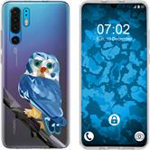 Huawei P30 Pro Silicone Case vector animals M1