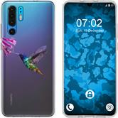 Huawei P30 Pro Silicone Case vector animals M3