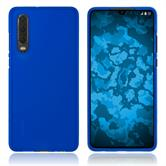 Silicone Case P30 matt blue Cover