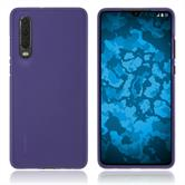 Silicone Case P30 matt purple Cover