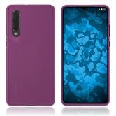 Silicone Case P30 matt hot pink Cover
