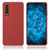 Silicone Case P30 matt red Cover