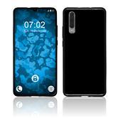 Silicone Case P30 transparent black Cover