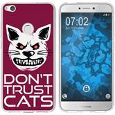 Huawei P8 Lite 2017 Silicone Case Crazy Animals M1
