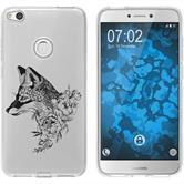 Huawei P8 Lite 2017 Silikon-Hülle Floral  M1-1