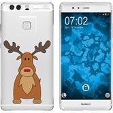 Huawei P9 Plus Silikon-Hülle X Mas Weihnachten  M3
