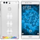 Huawei P9 Silicone Case pride M1