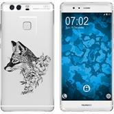 Huawei P9 Plus Silikon-Hülle Floral  M1-1