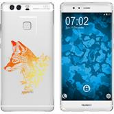 Huawei P9 Plus Silikon-Hülle Floral  M1-2