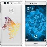 Huawei P9 Plus Silikon-Hülle Floral  M1-3