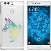 Huawei P9 Plus Silikon-Hülle Floral  M1-4