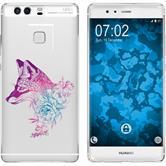 Huawei P9 Plus Silicone Case floralFox M1-6