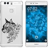Huawei P9 Plus Silicone Case floral M2-1