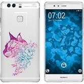 Huawei P9 Plus Silikon-Hülle Floral  M2-6