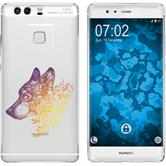 Huawei P9 Custodia in Silicone floral  M3-3