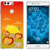 Huawei P9 Plus Silicone Case autumn M2