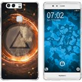 Huawei P9 Plus Silicone Case Element fire M3