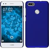 Hardcase P9 Lite Mini rubberized blue Case