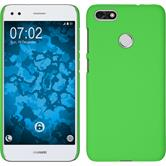 Hardcase P9 Lite Mini rubberized green Case