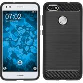Silikon Hülle P9 Lite Mini Ultimate schwarz Case