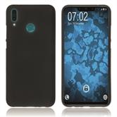 Silicone Case Y9 (2019) matt black Cover