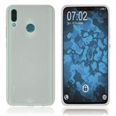 Silicone Case Y9 (2019) matt blue Cover