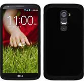 Hybrid Case for LG G2 ShockProof black