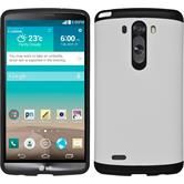Hybrid Case for LG G3 ShockProof white