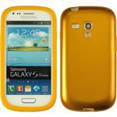 Hybrid Hülle Galaxy S3 Mini  gold