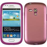 Hybrid Case for Samsung Galaxy S3 Mini  pink