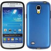 Hybrid Case for Samsung Galaxy S4 Mini  blue