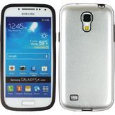Hybrid Case for Samsung Galaxy S4 Mini  silver