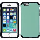 Hybrid Hülle iPhone 6s / 6 ShockProof Candy pastellgrün