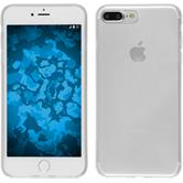 Silikon Hülle iPhone 8 Plus transparent Crystal Clear + 2 Schutzfolien