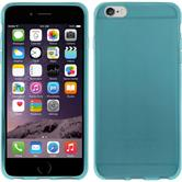 Silicone Case for Apple iPhone 6 transparent turquoise