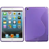 Silicone Case for Apple iPad Mini 3 2 1 S-Style purple