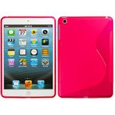 Silicone Case for Apple iPad Mini 3 2 1 S-Style red