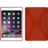 Silicone Case for Apple iPad Mini 3 2 1 X-Style red