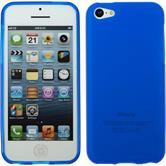 Silicone Case for Apple iPhone 5c matt blue