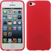 Silicone Case for Apple iPhone 5c matt red