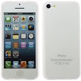 Silicone Case for Apple iPhone 5c matt transparent