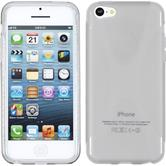 Silicone Case for Apple iPhone 5c X-Style gray