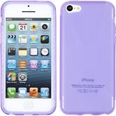 Silicone Case for Apple iPhone 5c X-Style purple