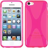 Silicone Case for Apple iPhone 5c X-Style hot pink