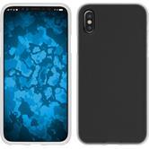 Silicone Case iPhone X matt white Case