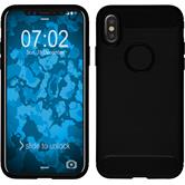Silicone Case iPhone X Ultimate black Case