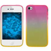 Silicone Case for Apple iPhone 4S Ombrè Design:01