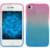 Silicone Case for Apple iPhone 4S Ombrè Design:06