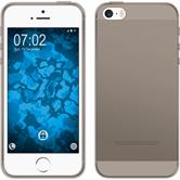 Silicone Case for Apple iPhone 5 / 5s Slimcase gray